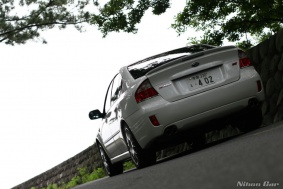 Subaru Legacy S402 STi version